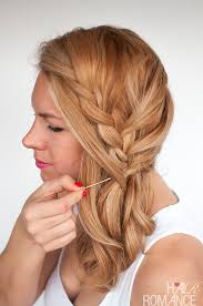 large hair pleats how to braid when you have layers hair romance