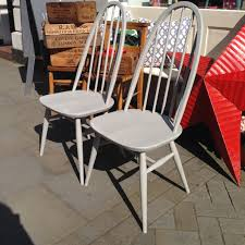 vintage painted ercol chairs the consortium vintage furniture