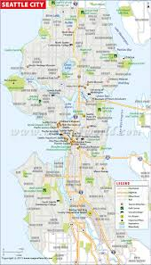 seattle map buy seattle city map