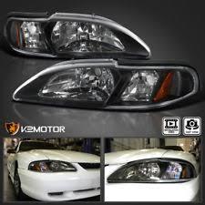ebay mustang headlights 94 ford mustang headlights ebay