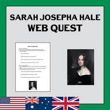 josepha hale the of thanksgiving web quest tpt