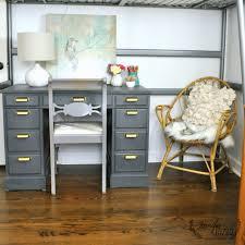 paint a vintage desk with the super finish max hvlp paint sprayer