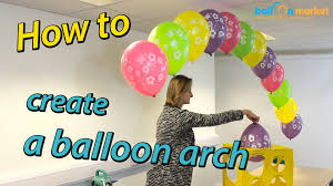 Wedding Arches How To Make How To Make A Balloon Arch With Helium Youtube