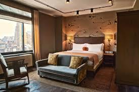 Bedroom Bed In Corner Grand Corner King Accommodations Soho Grand Grand Corner King