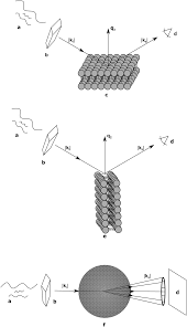 on scattered waves and lipid domains detecting membrane rafts
