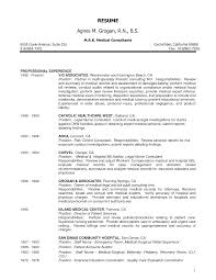 objective resume examples nursing sample sample certified nursing