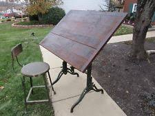 Commercial Drafting Table Vintage Drafting Table Ebay