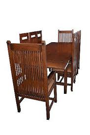 Mission Oak Dining Chairs Crafters And Weavers In Business For Almost 20 Years In Usa
