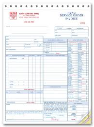 Air Conditioning Invoice Template by Work Orders Hvac Work Order Hvac Work Orders Print Forms