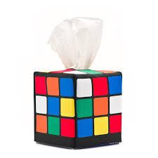 the big bang theory apartment amazon com rubik u0027s cube tissue box cover as seen in sheldon u0027s
