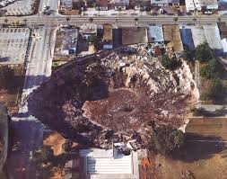 Map Of Sinkholes In Florida by Top 10 Worst Sinkholes Toptenz Net