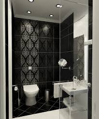 Best Black Bathroom Images On Pinterest Bathroom Ideas Room - Bathroom tile designs photo gallery