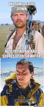 Bear Grills Meme - rmx bear grylls eat your heart out by sushirush meme center