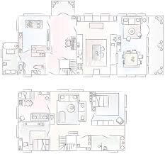 A Floor Plan by Tour Annika U0027s Modern Family Home In A Traditional Farmhouse In Sweden