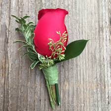 Red Rose Boutonniere Boutonnieres Flowers Portland Real Local Flower Shop Portland