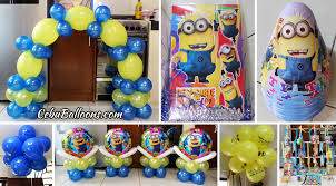 minions party supplies despicable me balloon decors party supplies at lower hermag cebu