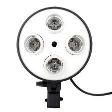 Light Holder 4 In 1 E27 Base Socket Light Lamp Bulb Holder Adapter For Photo