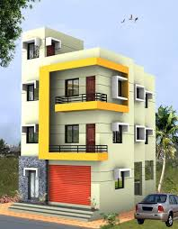 building design design small house with a 3 storey building indian building design
