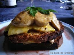 cuisiner foie gras recette foie gras poêlé aux pommes la cuisine familiale un plat