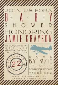 precious cargo baby shower vintage airplane baby shower invitations decorations