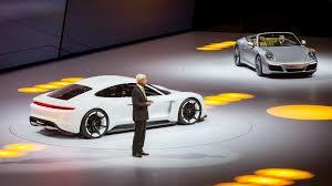 porsche 911 concept cars porsche u0027showcasing the future u0027 with cayman e performance concept