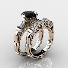 black black gold engagement rings best 25 black rings ideas on vintage promise rings