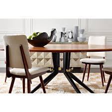 Wooden Dining Set Furniture Trocadero Wood Dining Table Modern Furniture Jonathan Adler