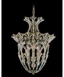 schonbek 6712 rivendell 15 inch wide 4 light large pendant