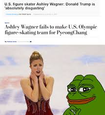 Ashley Wagner Meme - the trump curse is real the donald