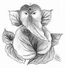 photos lord ganesha sketches drawing art gallery