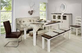 esszimmer weiß esszimmer weiß kolonial mit friesensofa tischsofa massivholz