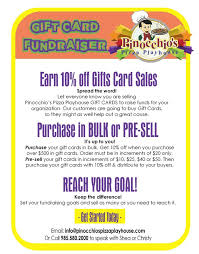 gift card fundraiser fundraising