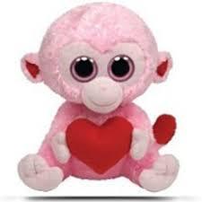 compare ty beanie boos buddy peek boo plush 18 monkey