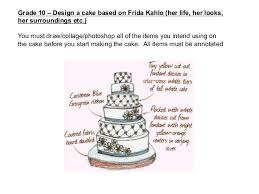 design a cake cake sculpture and frida kahlo gd 10 2013