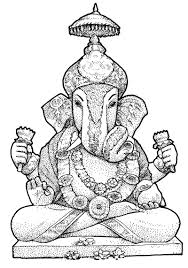 ganesha images for coloring coloring pages