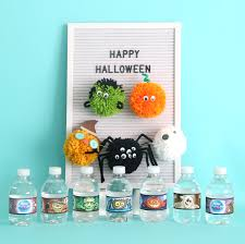 halloween pom pom pals easy kids u0027 craft it u0027s always autumn