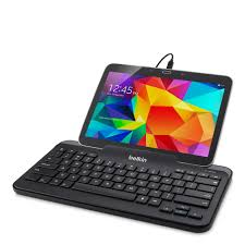 belkin wired tablet keyboard w stand for tablets micro usb