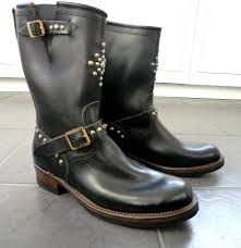 engineer boots vintage engineer boots rrl studded engineer boots a review