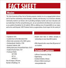 Sheet Templates 12 Fact Sheet Templates Excel Pdf Formats