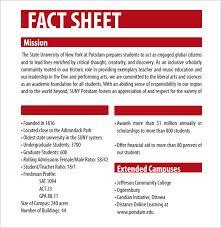 Sheet Template Word 12 Fact Sheet Templates Excel Pdf Formats