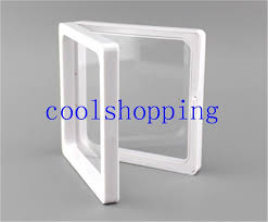 jewelry box photo frame dhl clear plastic membranes photo frame display collection box