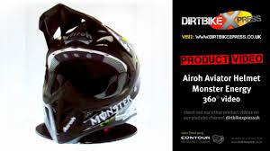 monster energy motocross gear airoh aviator monster energy helmet youtube