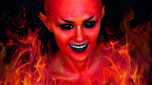 fire fairy devil demon makeup tutorial youtube