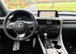 lexus crossover inside 2016 lexus rx f sport review autonation drive automotive blog