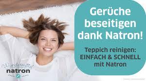 gerüche neutralisieren wohnung teppich stinkt gerüche mit natron neutralisieren