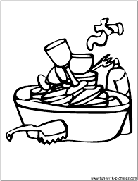 Hand Washing Coloring Sheet - hand washing printable parents scholastic