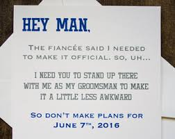 will you be my best will you be my groomsman etsy