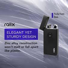 amazon com ralix electronic lighter single arc flameless