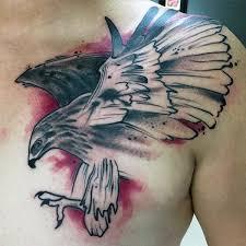 simple vulture tattoo 100 hawk tattoo designs for men masculine bird ink ideas