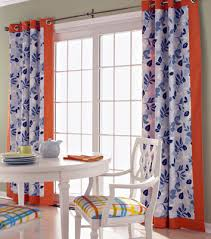 Orange And Blue Curtains Blue And Orange Curtains Home Design Ideas And Pictures